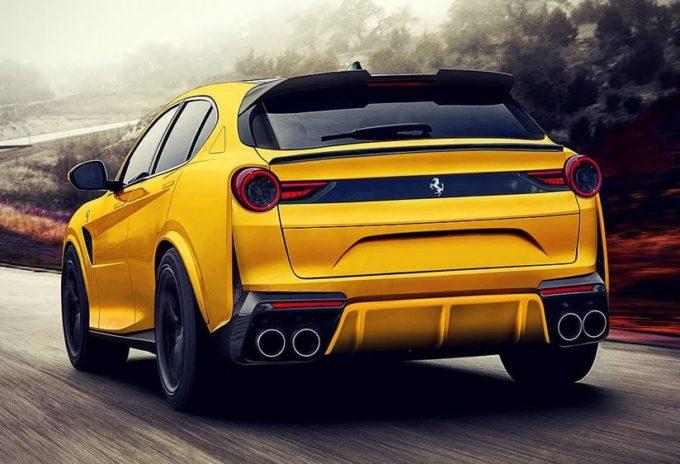 Ferrari Purosangue: immaginando il SUV del Cavallino [RENDERING]