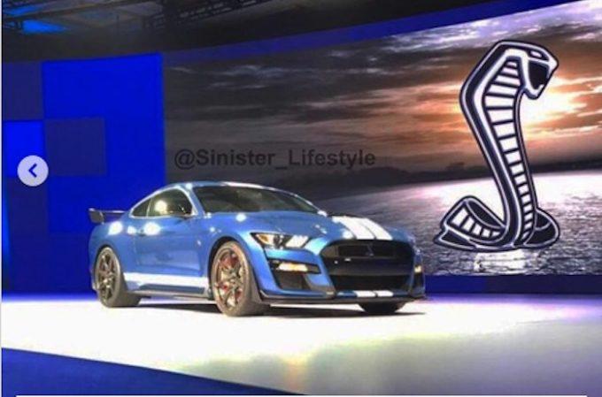 Ford Mustang Shelby GT500: la prima immagine della nuova muscle car [FOTO LEAKED]