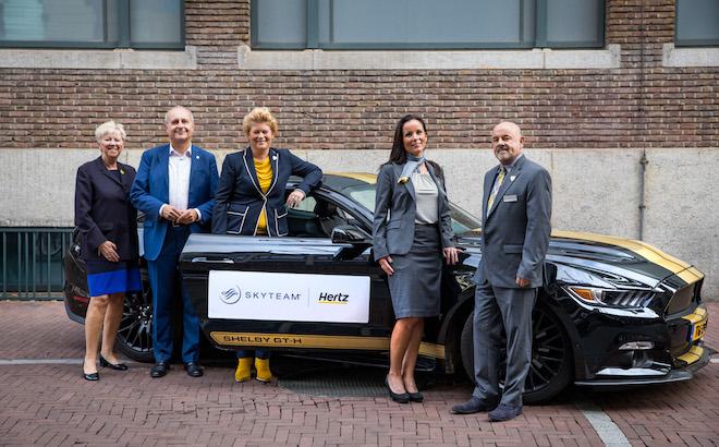 Hertz: accordo con Skyteam, per vantaggi sul noleggio auto