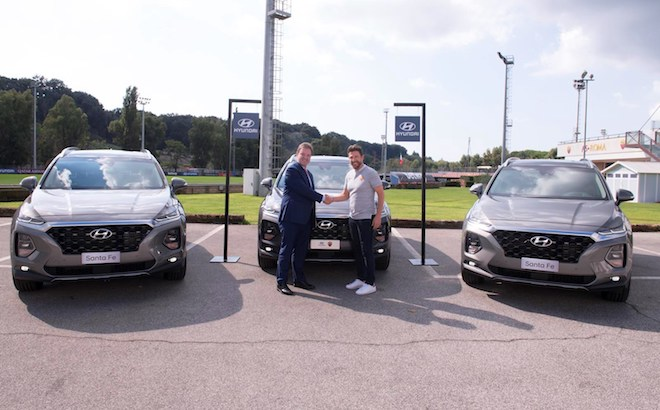 Hyundai: i SUV coreani entrano nella flotta dell'AS Roma [VIDEO]