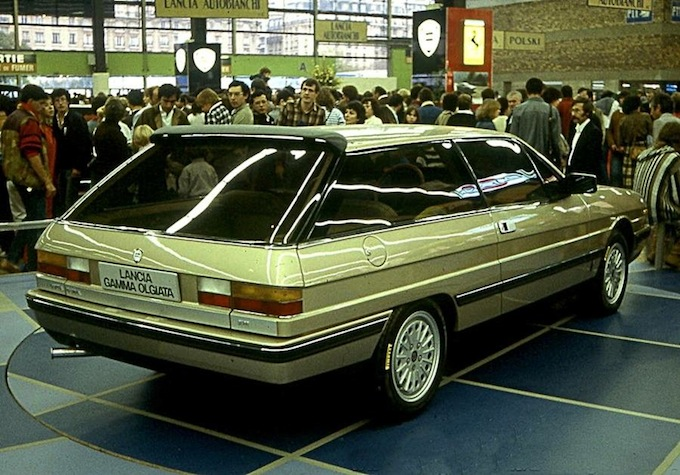 "Lancia Gamma Olgiata (1982): una bella ""shooting brake"""