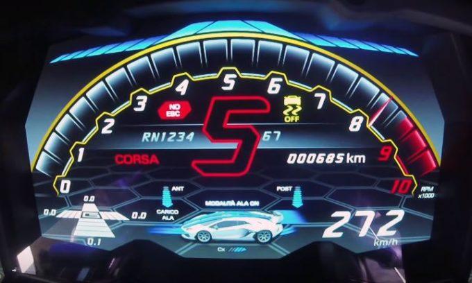 Lamborghini Aventador SVJ: la progressione da brividi del V12 da 770 CV [VIDEO]