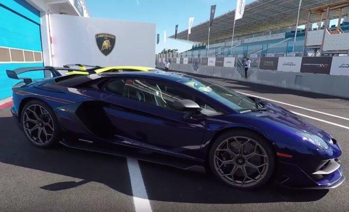 Lamborghini Aventador SVJ: in pista con la nuova supercar del Toro [VIDEO]