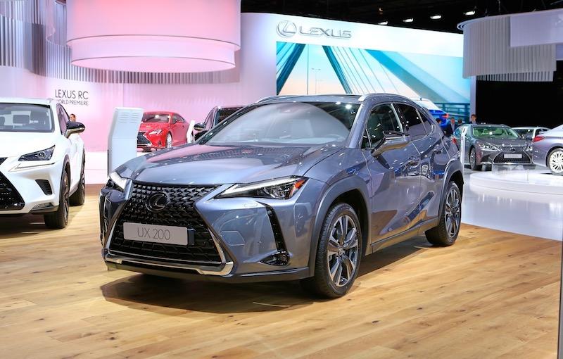 Lexus UX - Salone di Parigi 2018