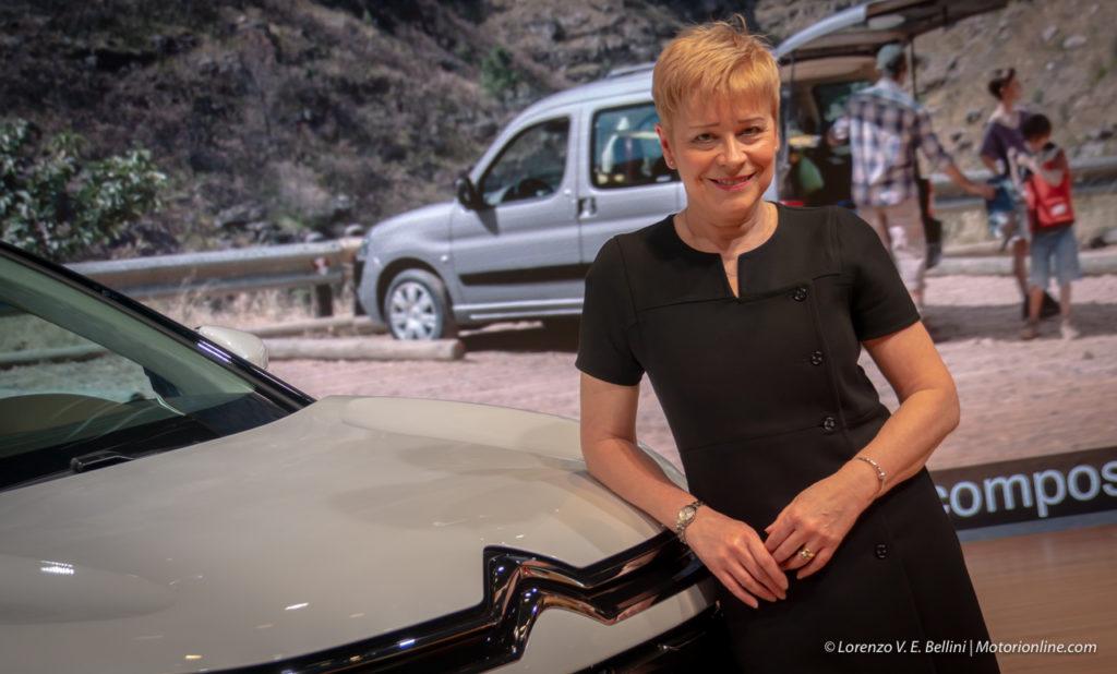 Citroen: Linda Jackson promette elettrico e guida autonoma [INTERVISTA]