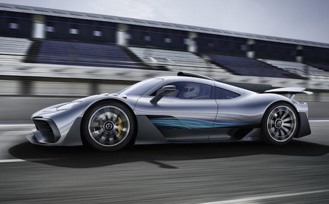 Mercedes-AMG One: l'hypercar viene rinviata al 2020