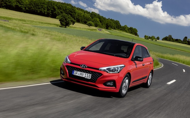 Hyundai i20: offerta lancio a 4.485 euro, più furto e incendio