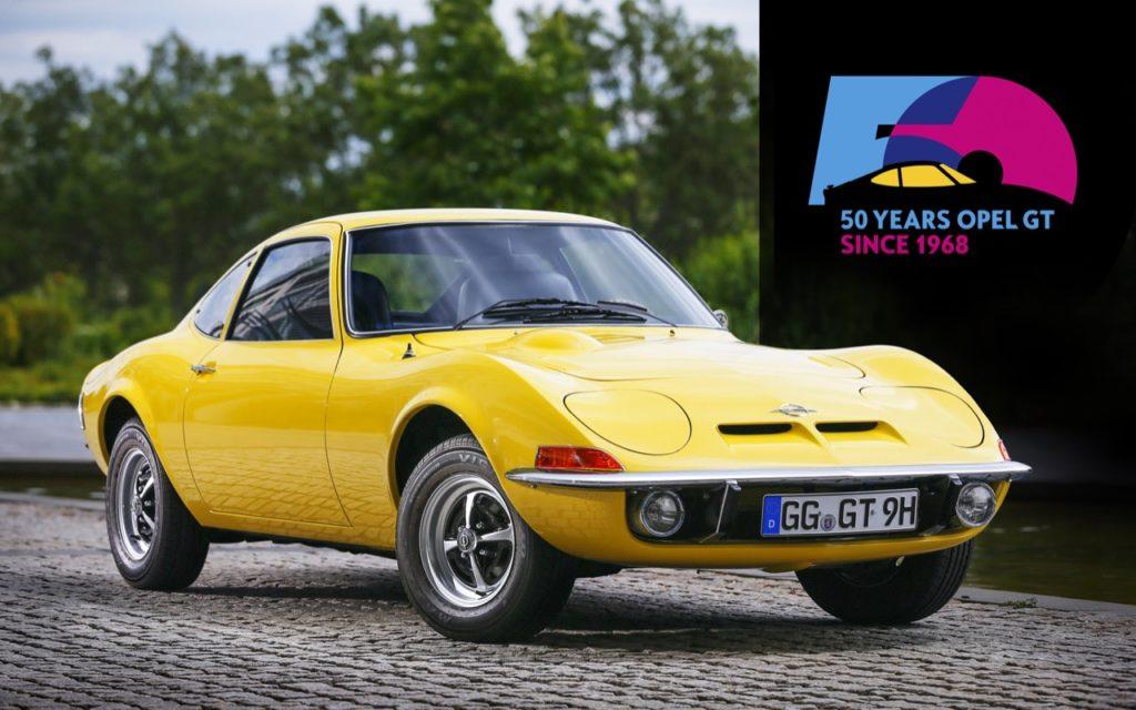 Opel - premiate le storiche GT e Opel GSi