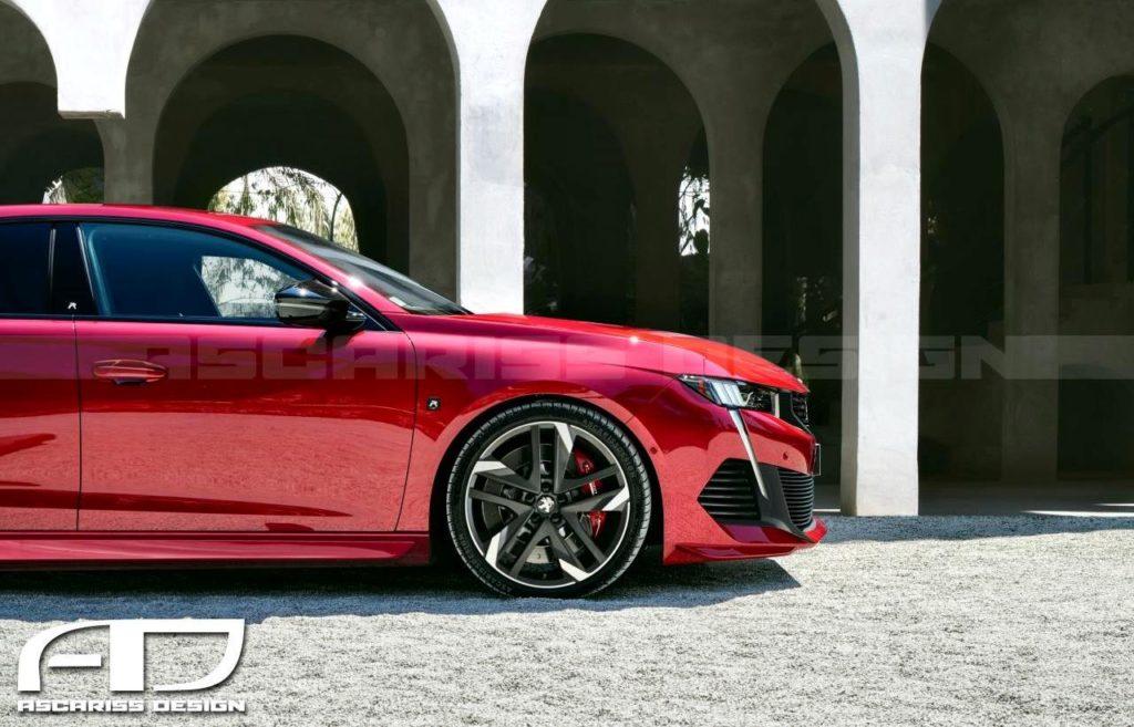 Peugeot 508 R Concept: ipotesi stilistica dal sapore sportivo [RENDERING]