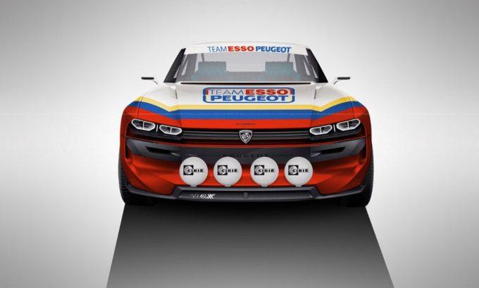 Peugeot e-Legend: ipotizzate tre versioni speciali del concept [RENDERING]