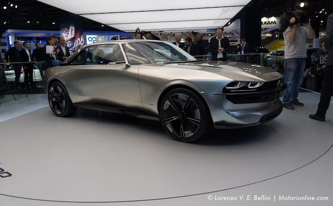 Peugeot e-Legend concept - Salone di Parigi 2018