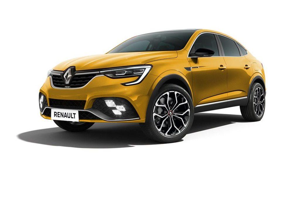 Renault Arkana RS, il crossover immaginato in versione sportiva [RENDERING]