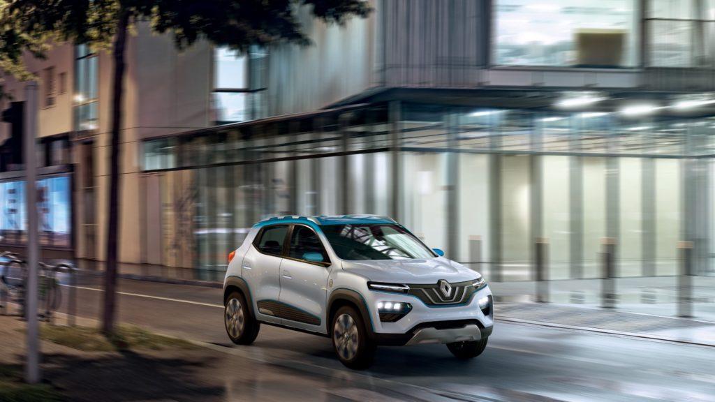 Renault K-ZE: svelato a Parigi il futuro elettrico della Losanga [FOTO]