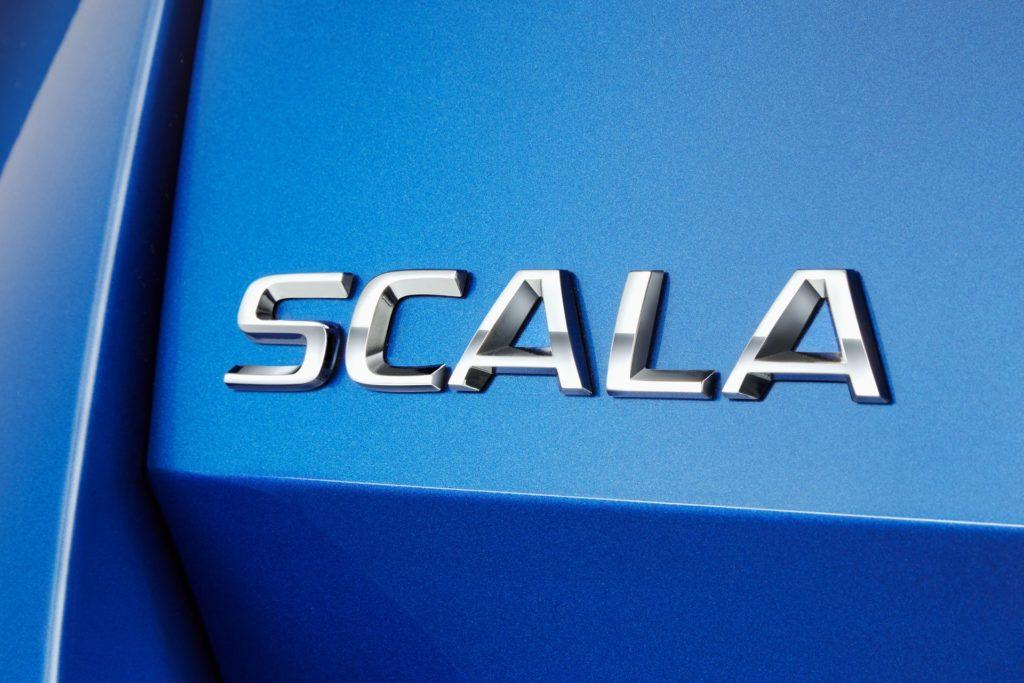 Skoda Scala, scelto il nome della nuova compatta erede della Rapid [TEASER]