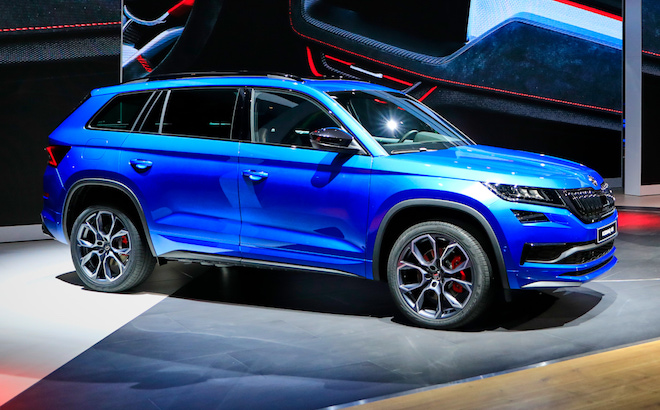 Skoda Kodiaq RS: il SUV da 240 cavalli a Parigi [VIDEO LIVE]