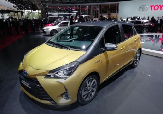 Toyota Yaris Y20: versione celebrativa al Salone di Parigi [VIDEO LIVE]