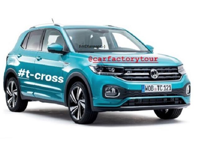 Volkswagen T-Cross: sfugge la prima foto online