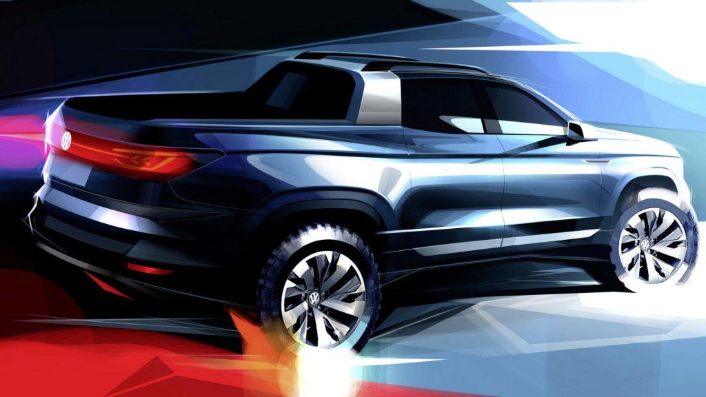 Volkswagen, in arrivo un nuovo pick-up al Salone di San Paolo [TEASER]