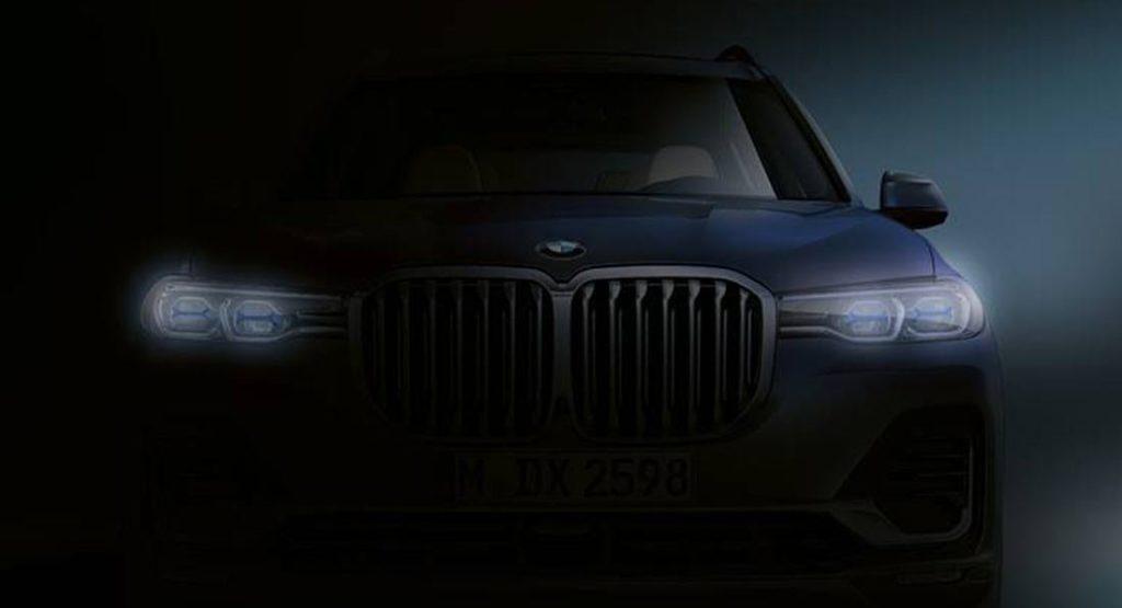 BMW X7: svelato il volto imponente del nuovo SUV extra large [TEASER]