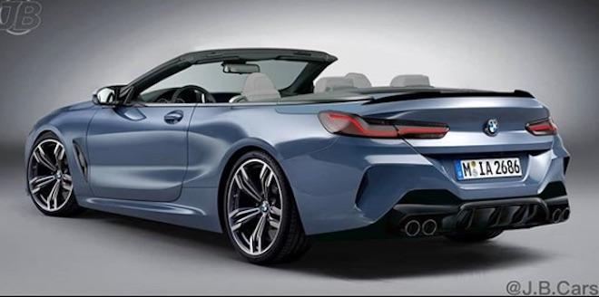 BMW M8: la versione cabrio attesa per fine 2019 [RENDERING]