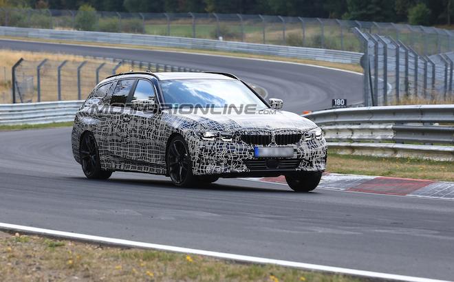 BMW Serie 3: la Touring verso il debutto a Ginevra 2019