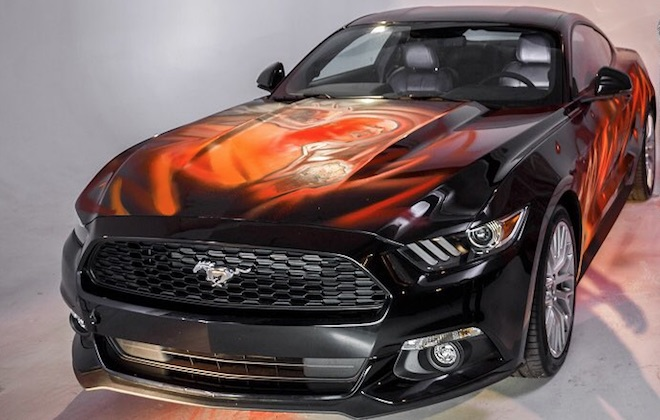 Ford Mustang: la versione #FightTheDarkness a Lucca Comics 2018 [VIDEO]