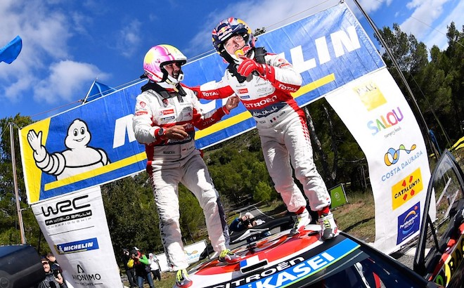Citroen: Loeb, trionfo in Spagna cinque anni dopo