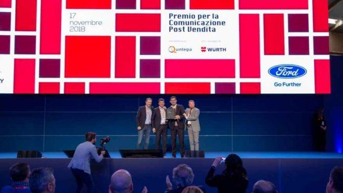 Ford Italia è stata premiata per la migliore comunicazione post vendita 2018