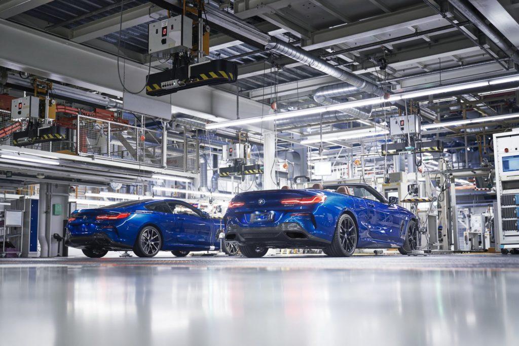 BMW Serie 8 Cabrio: al via la produzione nell'impianto di Dingolfing