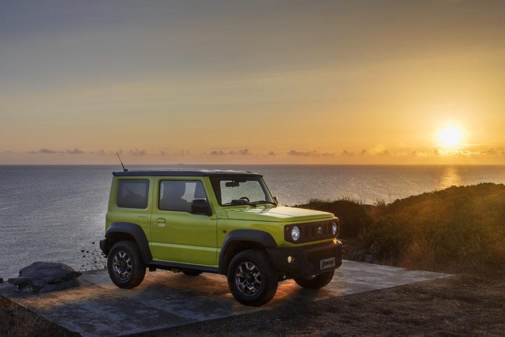 Suzuki Jimny: il nuovo modello ha conquistato il Good Design Gold Award