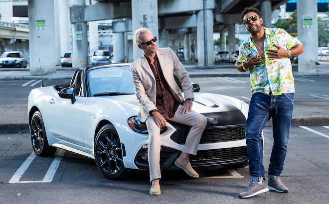 Abarth 124 Spider: protagonista nel video di Sting e Shaggy [VIDEO]