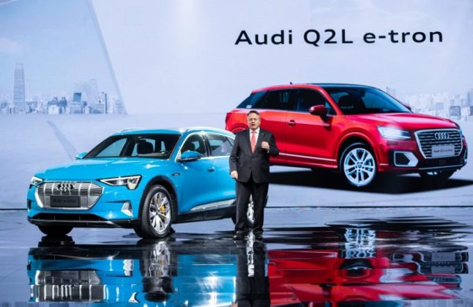 Audi Q2 L e-tron: novità in arrivo nel 2019 per la Cina