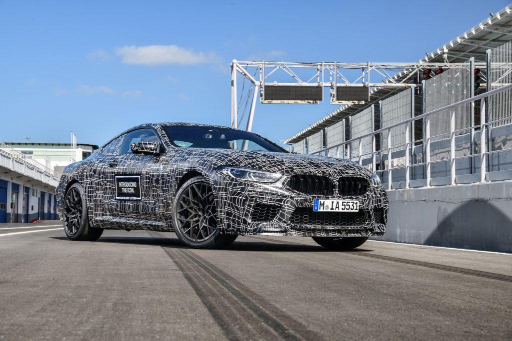 BMW M8 - Prototipo