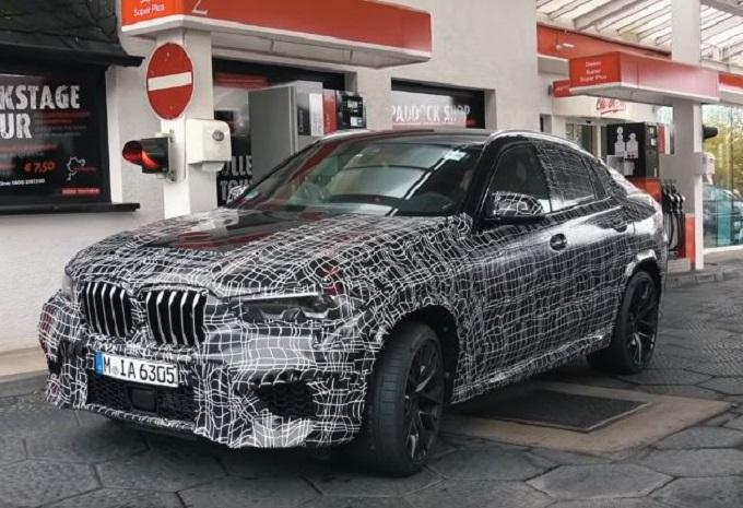 Nuova BMW X6 M avvistata sulla pista del Nurburgring [VIDEO SPIA]