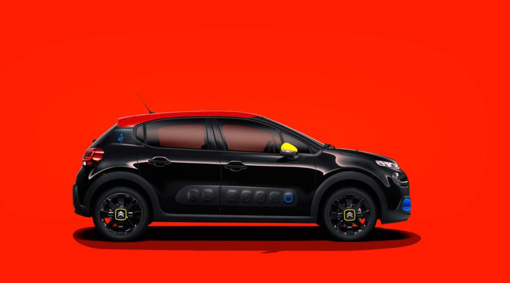 Citroen C3 JCC+, la limited edition è ordinabile online