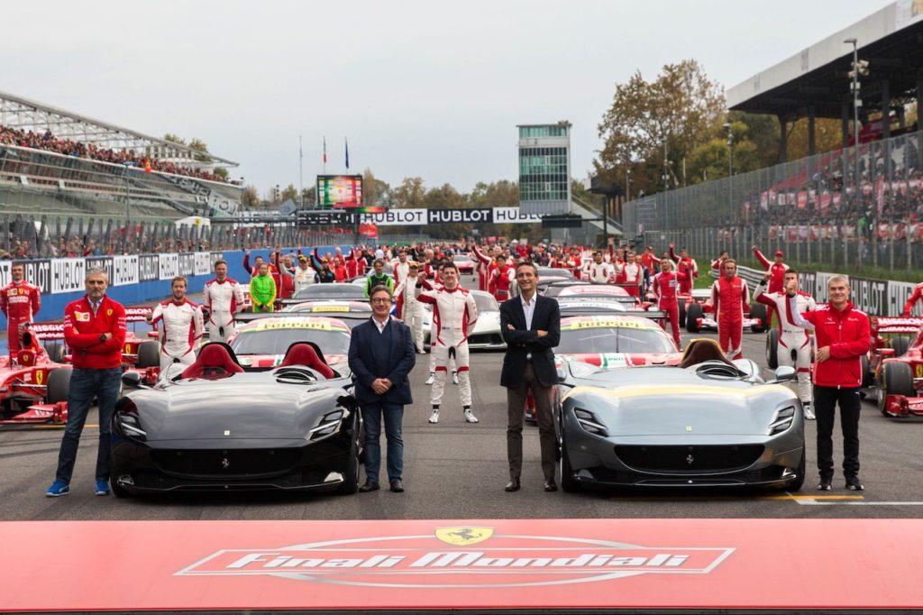Finali Mondiali Ferrari, a Monza grande successo di vetture e pubblico [VIDEO]