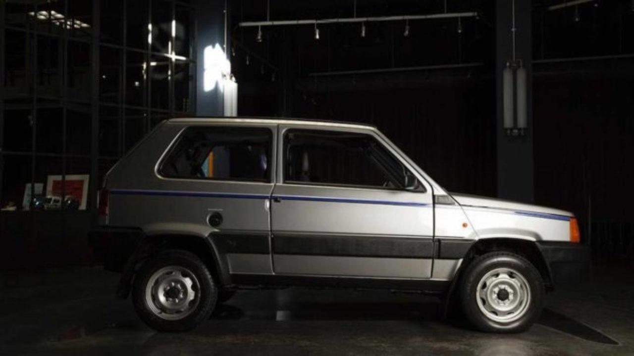 Fiat Panda 4 4 Il Tuning Di Garage Italia Custom Sull Utilitaria Che Fu Di Gianni Agnelli Foto