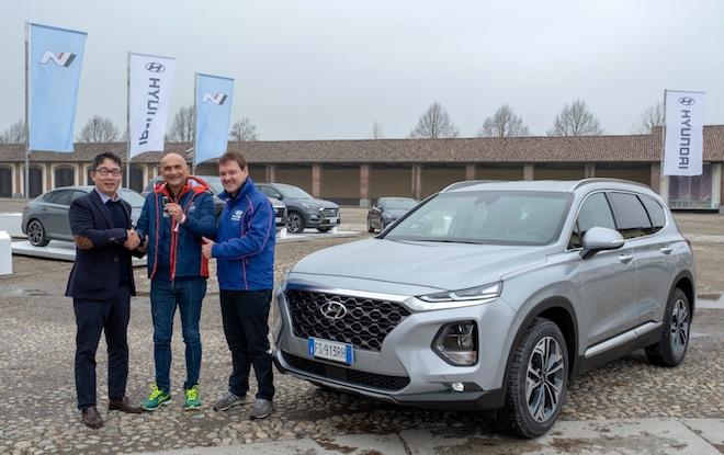 Hyundai: il nuovo brand ambassador è Gabriele Tarquini