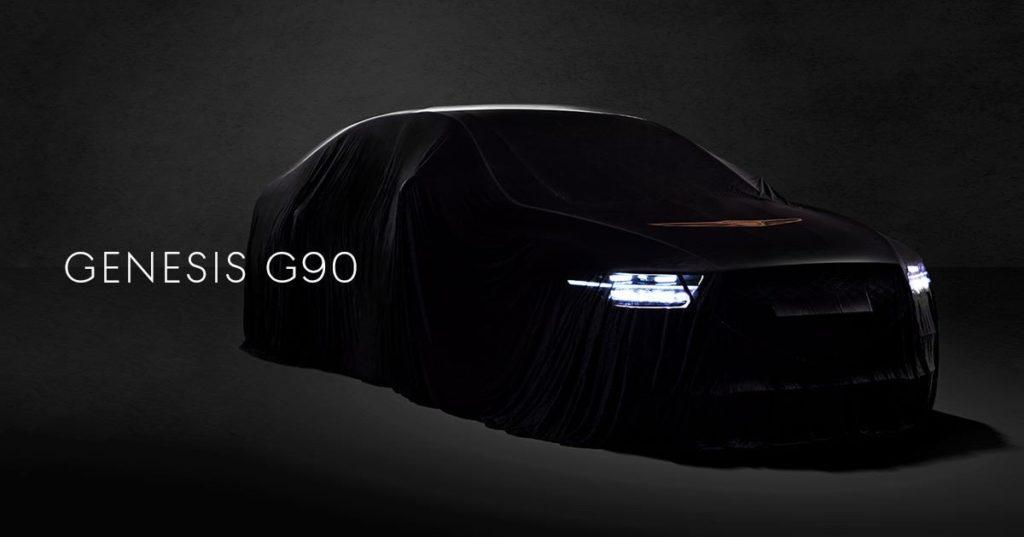 Genesis G90 MY 2020: primi dettagli sul restyling [TEASER]