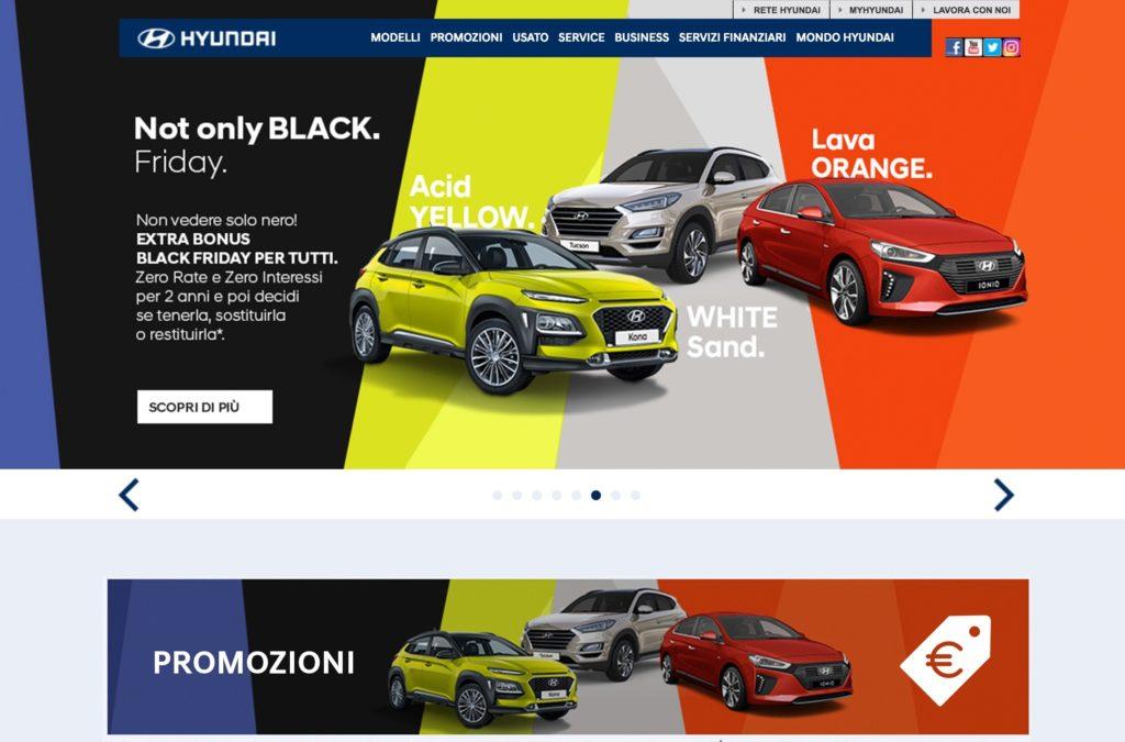 Black Friday, Hyundai offre promozioni vantaggiose