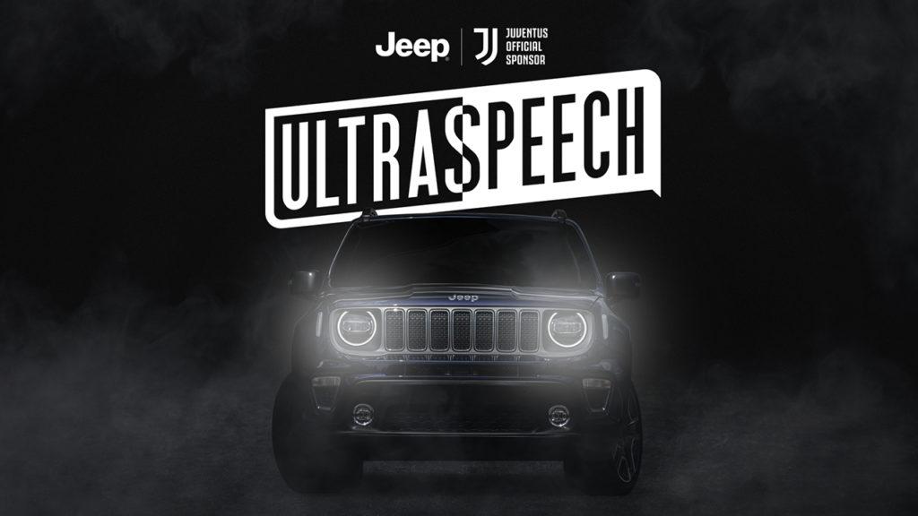 Jeep lancia Ultraspeech, iniziativa rivolta ai tifosi della Juventus