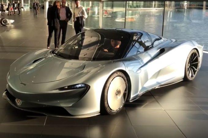 McLaren Speedtail: il primo esemplare lascia la fabbrica di Woking [VIDEO]