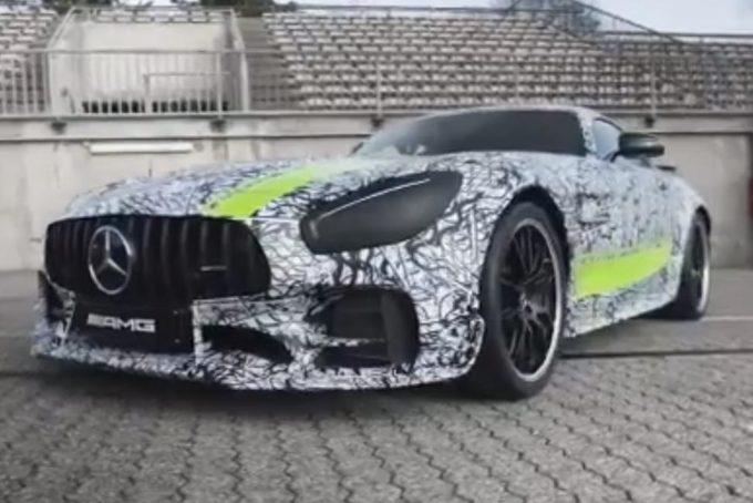 Mercedes-AMG GT R Pro: nuovi dettagli della sportiva limited edition [VIDEO TEASER]