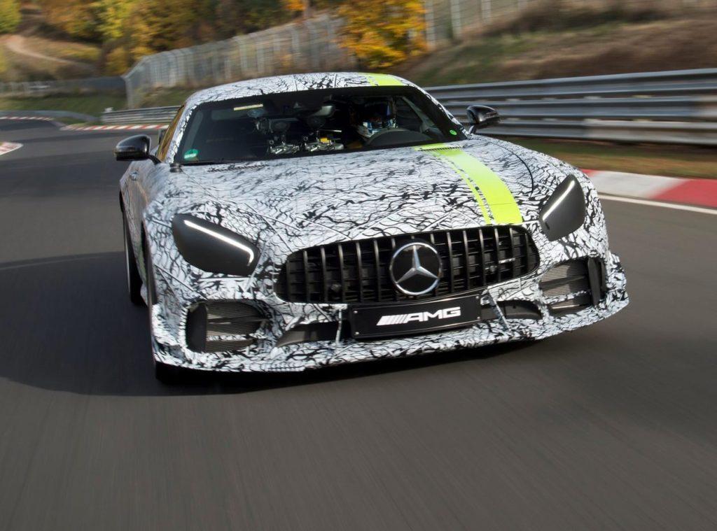 Mercedes-AMG GT R Pro: la nuova punta di diamante della Stella debutta a Los Angeles