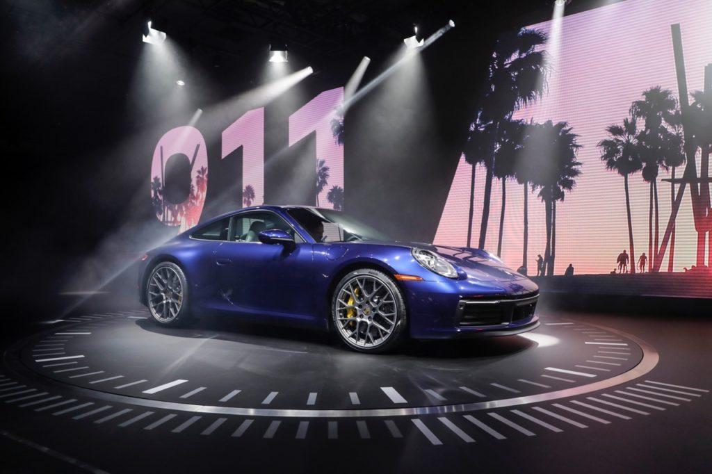 Porsche 911 - Salone di Los Angeles 2018