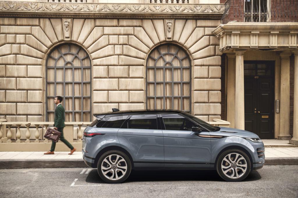 Nuova Range Rover Evoque: quando il design sposa la praticità