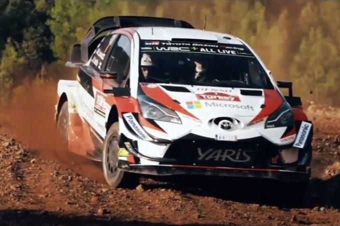 Toyota festeggia il titolo costruttori nel mondiale WRC [VIDEO]