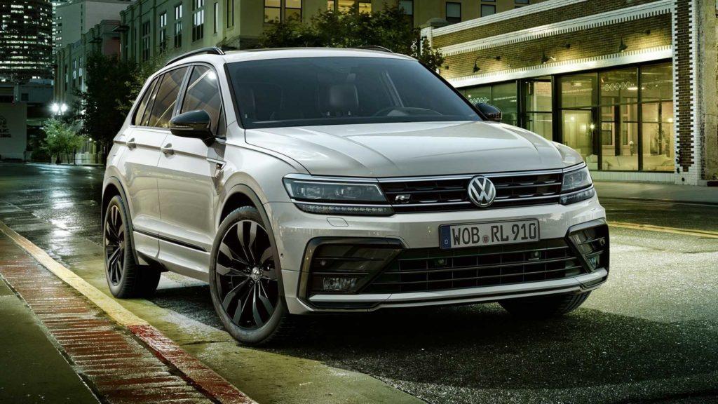 Volkswagen Tiguan, arriva il pacchetto R-Line Black Line