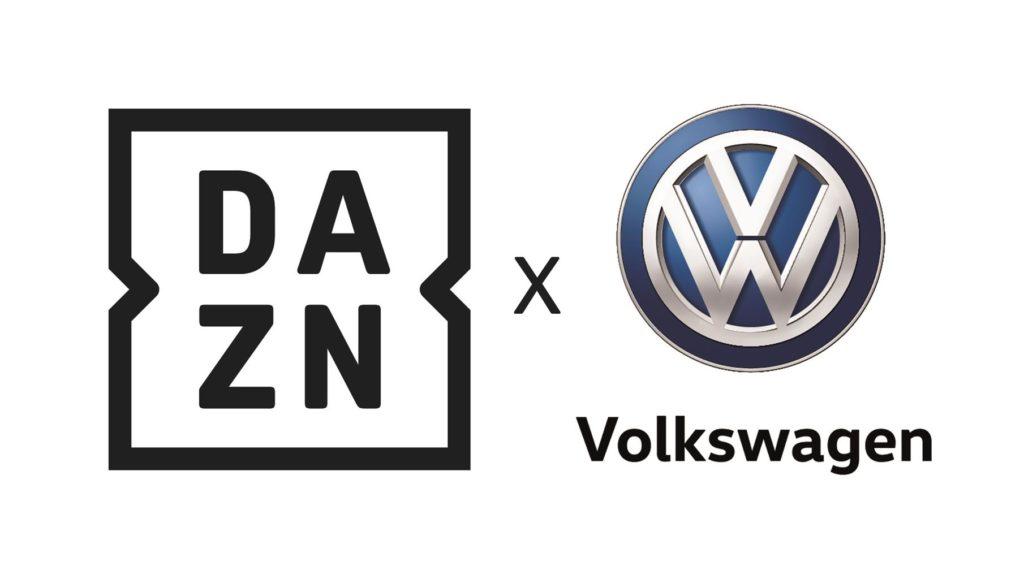 Volkswagen e DAZN: insieme per un percorso d'innovazione comune