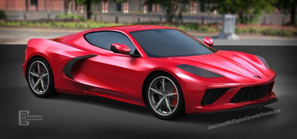 Chevrolet Corvette C8: intrigante ipotesi stilistica del nuovo modello [VIDEO RENDERING]